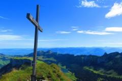 Marwees Gipfelkreuz