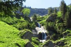 Aufstieg Brunnenauscharte