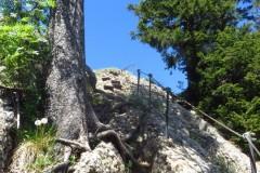 Luftiger Grat Falkenhütte